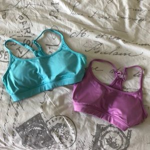 Set of 2 cute Aerie sports bras